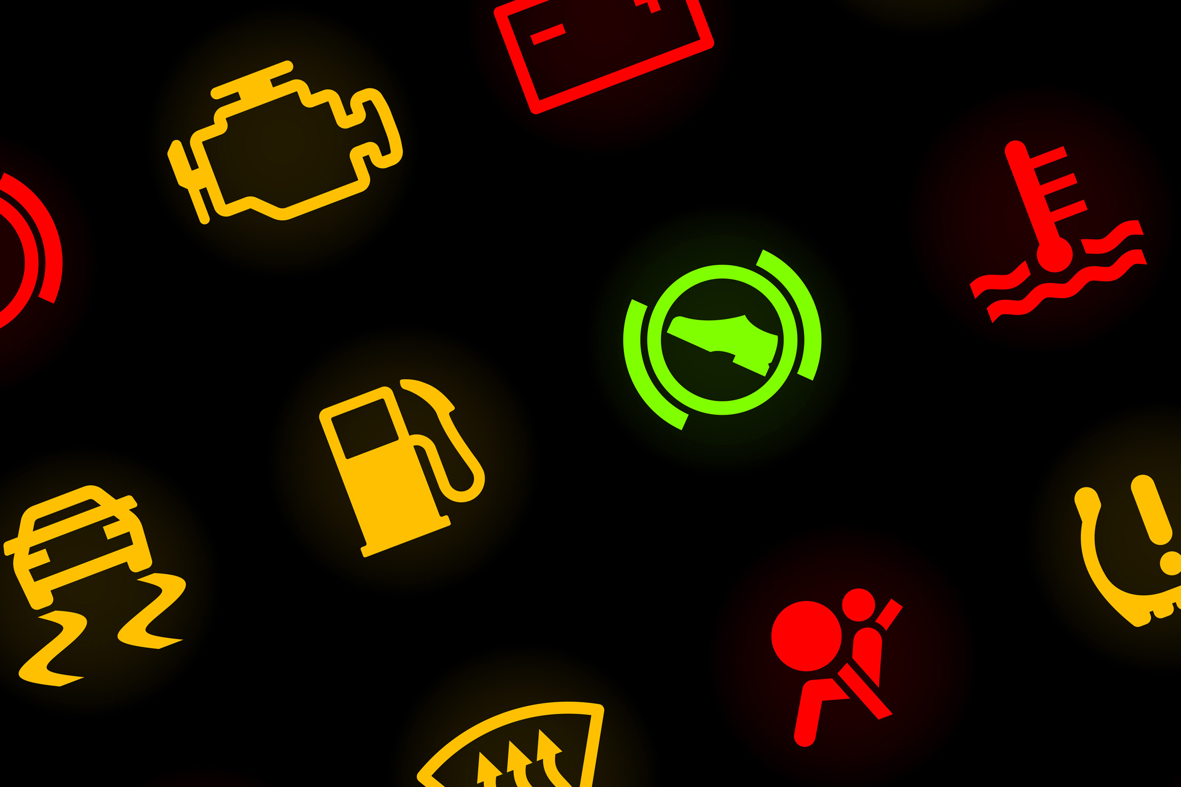 Car Dashboard Warning Lights Header Professional Mobile Mechanic